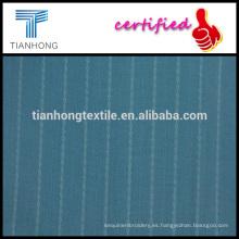 Popelín azul marino y blanco dobby tejido de tela de algodón en tela de peso ligero para el vestido