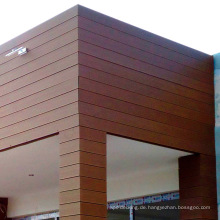 Holz-Kunststoff-Composite-Wand Board Faux Holz Abstellgleis