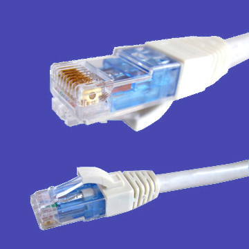 CAT6A patch cord UTP LSZH