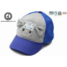 Baumwolle Niedliche Baby Kinder Baseball Sport Cap mit 3D Stickerei