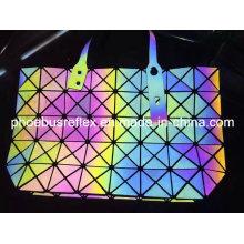 Reflektierende Multi Farbe glühenden Handtasche