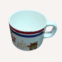 "100% Melamine Tableware - ""France Bear""Series Melamine Milk Mug (FB7002)"
