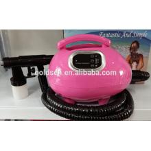 Главная Mini Skin Tanning Bed Machine Handheld HVLP Spray Tan Gun Портативное профессиональное решение для загара для тела