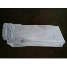 Bolsa de filtro de polvo de tela de fibra de vidrio con membrana de PTFE