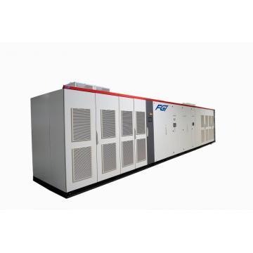 Motor eléctrico de velocidad variable de alto voltaje con controlador