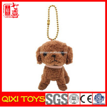 jouet en peluche chien porte-clés en peluche