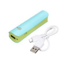 18650 Li-ion Battery Banco de energia USB para telefones celulares com tocha LED