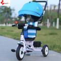 Kid Three Wheel Bicycle/Adjustable Seat Safety Baby Trike
