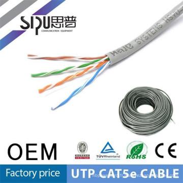 Câble de 24awg SIPU haute qualité utp câble résistant au feu cat5e 4P