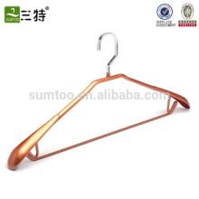 PVC coating metal hanger rose gold hanger