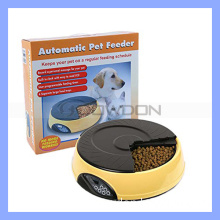 4 Meal Tray Programmable Timer Automatic Pet Dog Cat Feeder / Water Tray / Bowls