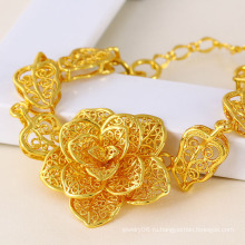 Xuping Мода Ювелирные изделия 24k Золотой Браслет (71328)