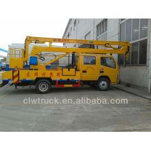 Dongfeng FRK cabina de la tripulación 16m camión de operación de gran altura