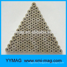 Good quality tiny mini micro round magnet with hole