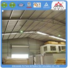 Bâtiment d'atelier de structure en acier haute qualité