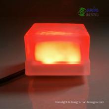Plancher de verre trempé rouge de 3W 24V LED pour l'éclairage d'étape