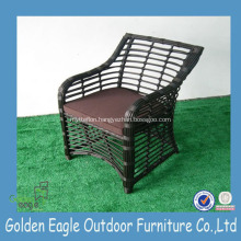 Hot Outdoor UV-resistant PE Round Rattan Garden Chair