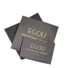 Custom Design Logo End Fold Woven Clothing Labels for Garment Apparel