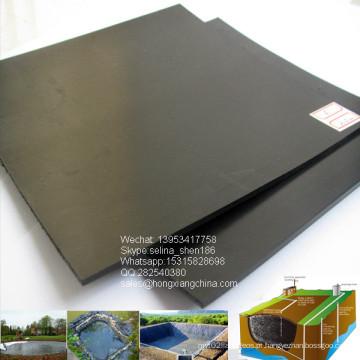 Geomembrana do forro da lagoa do HDPE, 1.0mm