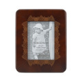 Distressed Light Gray Wooden Photo Frame