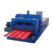 Máquina formadora de folha de telhado plana e de telha