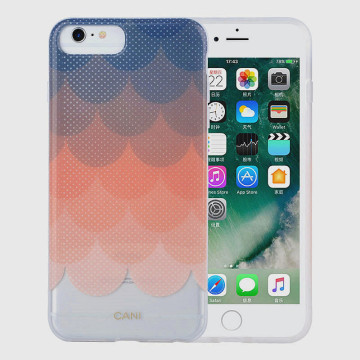 Nova capa de design IMD TPU para iPhone 8