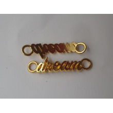 simple dream alphabets new design gold pendant for girl