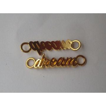 Alfabetos de sonho simples novo design pingente de ouro para a menina