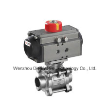 API Pneumatic Stainless Steel Thread Floating Ball Valve