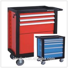 boîte à outils en métal bon marché avec des roues