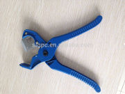 Produced in China low price aluminum handle steel blade pvc hose SLGPC-003 pipe rubber tube cutter in scissors