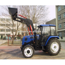 Vierrad-Traktor mit Frontlader