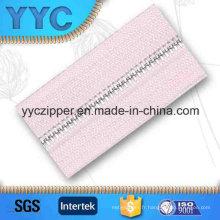 # 2 Dents rondes personnalisées Disponible Metal Long Chain Zipper for Textile