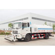 Caminhão de lavagem e varrimento de estradas de alta pressão