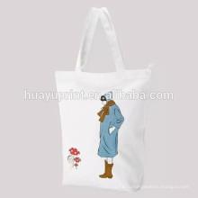 Чистый мешок ткани хлопка drawstring карманный мешок хранения одежды младенца / 2013 Мешок высокого качества drawstring в печатании