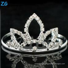 Pentes de cristal do cabelo nupcial de alta qualidade, pente do cabelo do diamante do casamento, pentes baratos do cabelo, headpiece do metal