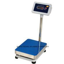 Escala de banco de 30X40cm Escala de plataforma electrónica digital de acero inoxidable de 150kg