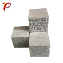Panel de sándwich de Instal de energía rápida ahorro Panel de Eps de cemento prefabricado de 100 mm