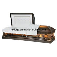 Estilo americano de cobre ataúd (11018112)