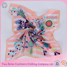 Excellent Quality Hand Made Paint Fashionable Lady Silk Scarf