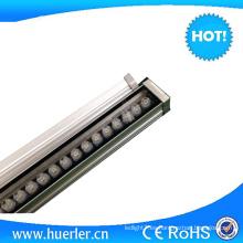 Al aire libre IP65 18w 36w luz alta potencia LED pared arandela para la fachada del edificio