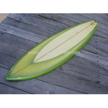2016 HOT VENTAS tabla de surf de fibra de vidrio fuerte y más ligera / tabla de surf de fibra de vidrio corta personalizada