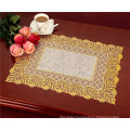 38*55cm Gold PVC Lace Tablemat /Tablemat with Gold Lace