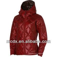 Falso chaqueta para mujer con capucha