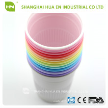 Tasses à usage unique en plastique blanc 5oz