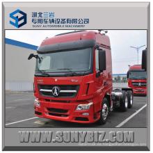 380HP Nuevo modelo Beiben V3 6X4 Tractor Trailer Truck