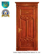 European Style Solid Wood Door with Roma (ds-025)
