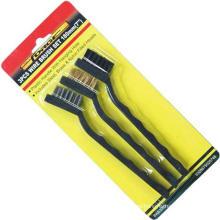 Herramientas manuales Mini Wire Brush Set OEM para la construcción 3PCS