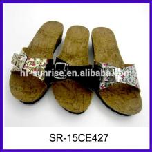 Neueste Frauen flache Sandalen neue Designs flache Sandalen China Großhandel Sandalen