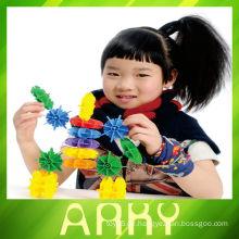 Heiße und neue Plastik Baustein, erleuchten Ziegel Spielzeug, Kinder Kunststoff Bausteine